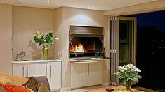 indoor braai room decor ideas - Google Search