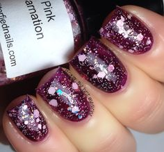 Lacquer: The Best Medicine!: Glitterfied Nails | Spring Florals 2014