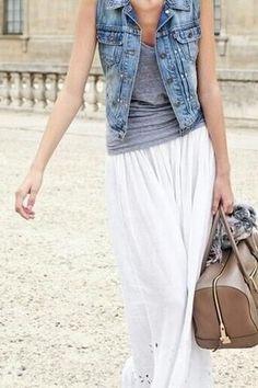 that denim vest though.. easy goodwill DIY?