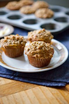 Morning Glory Crumble Muffins    A Sweet Spoonful