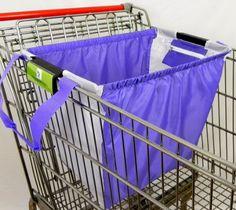 Reusable Shopping Cart Bags, with universal clip, purple/white, mom's love it MH GO GREEN Shopping Cart Bag http://www.amazon.com/dp/B00HERRZ00/ref=cm_sw_r_pi_dp_chgnvb0QSQNDA