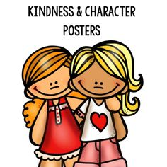 These free kindness amp; character posters go hand-in-hand with my manners printable pack to help teach even the youngest of learners. Teaching Kids Manners, Manners Activities, Manners For Kids, Kindness Activities, Help Teaching, Printable Activities For Kids, Preschool Learning Activities, Preschool Curriculum, Preschool Printables