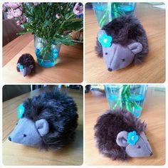 Sewed a hegdehog! By PrettyPats