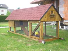 """Coco Chanel Castle"" movable chicken coop"