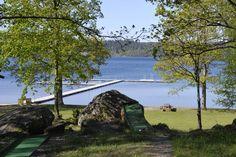 camping Lygnared, nabij Alingsas, Zweden.