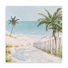 Fabrice de Villeneuve Studio Path to Paradise Wall Art - BedBathandBeyond.com