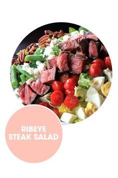 With grilled steak and crumbled goat cheese, you'll totally forget you're eating a salad (which is, like, the best kind of salad).  Get the recipe from Joyful, Healthy Eats.    - ELLE.com