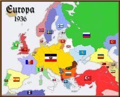 In dieser Welt gab es keinen 1. Weltkrieg. Deutschland und Österreich-Ungarn haben sich vereinigt. Rumänien liegt oberhalb des Kaukasus. Auch das Osmanische Reich scheint überdauert zu haben.