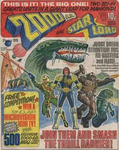 2000 AD and Star Lord, Prog merger issue