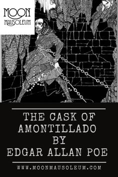 Scary Stories, Ghost Stories, The Cask Of Amontillado, Edgar Allan Poe, Macabre, Paranormal, Folklore, Supernatural, Pop Culture