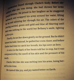 #bellarke moment from the book #the100 if this doesn't happen in the show soon I will scream