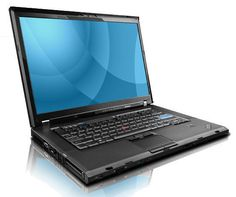 """Lenovo ThinkPad T500   Core 2 Duo   4GB Ram   250GB HDD   15.4""""  Only: £149.99   http://thequickclick.co.uk/collections/cheap-refurbished-laptops"""