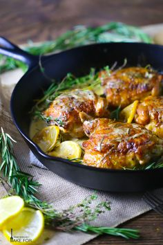 Crispy-skinned chicken thighs slathered in a rich, creamy sauce make a deceptively easy weeknight meal.