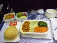 On the morning of your journey, consider requesting a vegetarian or kosher meal in-flight. www,sky-tours.com