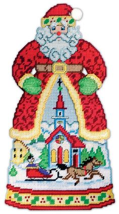 Plastic Canvas Ornaments, Plastic Canvas Tissue Boxes, Plastic Canvas Christmas, Plastic Canvas Crafts, Plastic Canvas Patterns, Xmas Cross Stitch, Cross Stitching, Cross Stitch Patterns, Christmas Wall Hangings