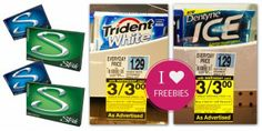 Free Dentyne, Trident or Stride Gum at Rite Aid!