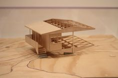 Marcel Breuer, Model made by Albert Marichal, Mario Mohan & Michael Nartey @ MoMA, NYC.