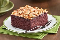 Cockeyed Chocolate Cake with Coconut Topping — Beth Dunham Quick Chocolate Cake, Great Recipes, Favorite Recipes, Breakfast Dessert, Something Sweet, Dessert Recipes, Desserts, Let Them Eat Cake, Coffee Cake