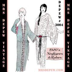 Vintage Sewing Pattern Anleitung 20er Jahre Flapper