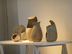 Keramiek Ina Vanhoorebeek Eindejaarstentoonstelling De Meiboom 2014