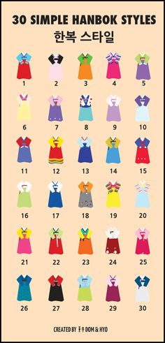 30 Simple Hanbok Styles (Women)