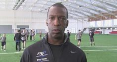 Michael Johnson: believes it is vitally important for the United Kingdom to have a dedicated athletics stadium