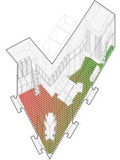 carrer avinyó 34 renovation - barcelona - david kohn - 2013 - axo