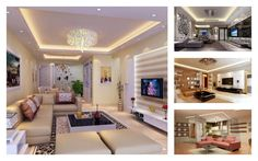 Because the living room is one of the most important room in your home, if you want to create a nice living room design, lighting ideas and living room ceiling design is something that you need to concern.
