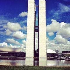 Palácio do Congresso Nacional em #Brasília