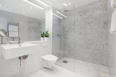 New Bathroom Ideas, Bathroom Goals, Bathroom Inspo, Bathroom Inspiration, Bathroom Interior, Contemporary Bathrooms, Modern Bathroom, Open Plan Kitchen Living Room, Living Place