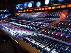 Trident A Range 40 ch Console. Formerly Butch Vig's.
