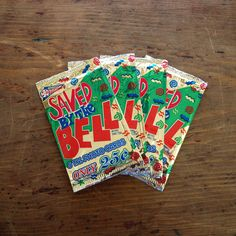 Saved By The Bell Cards 4pk  by Topps