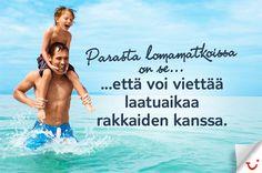 Laatuaikaa:  http://www.finnmatkat.fi/  #Finnmatkat