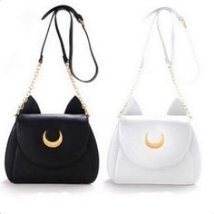 Cat Luna Moon Women Crossbody Bag