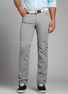 Bonobos Men's Travel Jeans Silver City