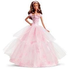 Amazon.com: Barbie Birthday Wishes 2016 Barbie Doll Light Brunette: Toys & Games