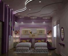 Cute, purple girls room