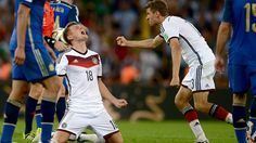 Toni Kroos of Germany celebrates victory against Argentina. Final Match WC 2014