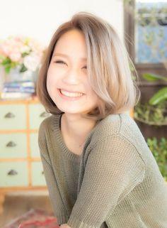 【ボブ】おフェロスタイル☆クールアッシュボブ/little galleriaの髪型・ヘアスタイル・ヘアカタログ|2016春夏