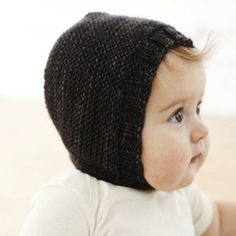 Merino Wool Baby Bonnet - Too Cute!
