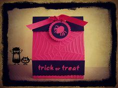 Halloween box. Scraparizate
