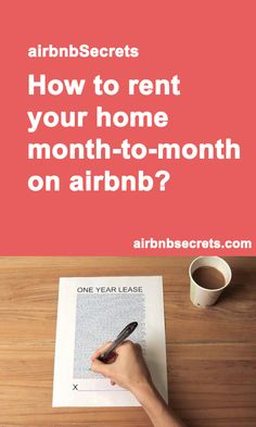 How to rent your home month-to-month on Airbnb? #airbnb #airbnbsecrets #rent #home
