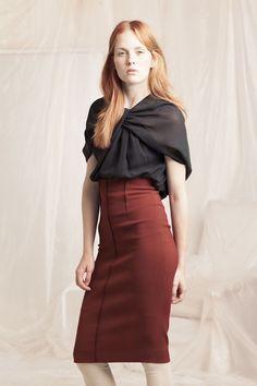 Loop top and Muriel skirt