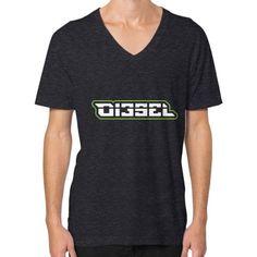 Di3seL Logo Shirt V-Neck (on man) Shirt