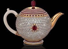 World's Most Expensive Tea Pot Costs Three Million Dollars!