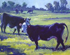 And the Livin' is Easy by Sonja Caywood Oil ~ 20 x 24