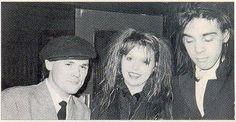 Billy MacKenzie(I think), Anita Lane, Nick Cave