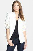 Trouvé Reverse Lapel white Blazer / Sarah Jessica Parker stylish outfit   ladiesnotes