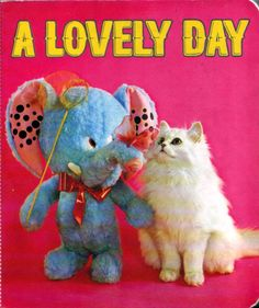 a lovely day, vintage 1972 children's book, published by froebel-kan, tokyo