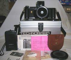 Linhof Technorama 6x17 617 Camera f5.6 90mm Lens Gossen Meter Center Filter NR #Linhof